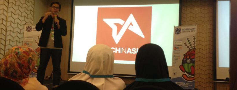 M Ilman Akbar WordCamp Jakarta 2017